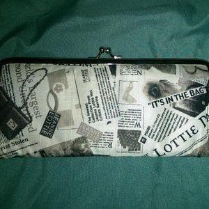Newsprint Wallet